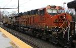BNSF 6693 on empty CSX K141